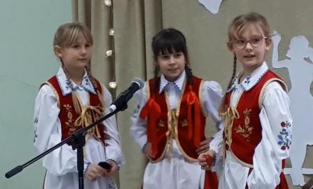 XIV POMORSKI Konkurs Kaszubskiej Pieśni Bożonarodzeniowej w ZSP w Szemudzie.